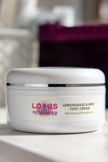 Lemongrass & Mint Foot Cream